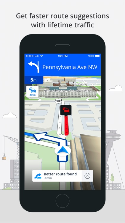 Sygic World: GPS Navigation, Maps & Traffic