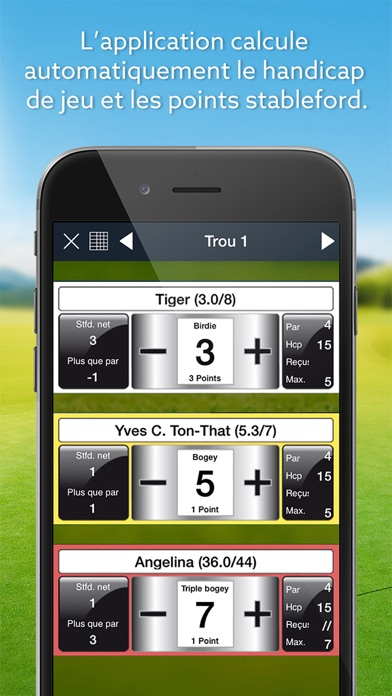 download Expert Golf – Carte de score apps 4