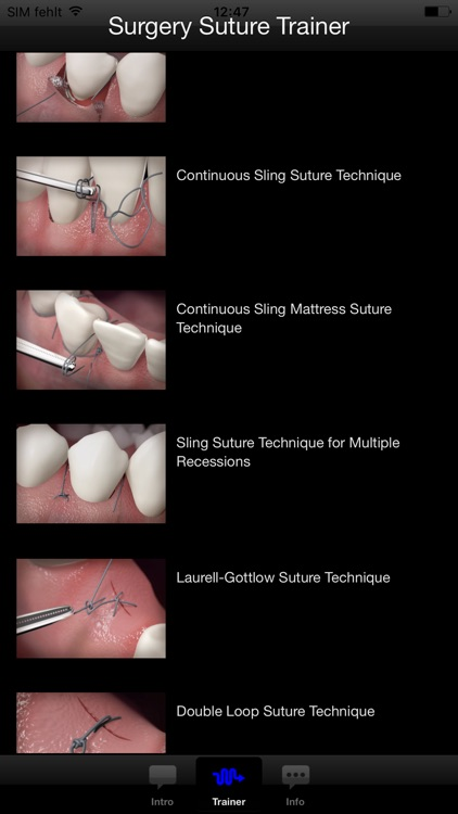 The Oral Surgery Suture Trainer