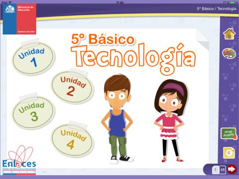 Tecnología 5º Básico screenshot 1