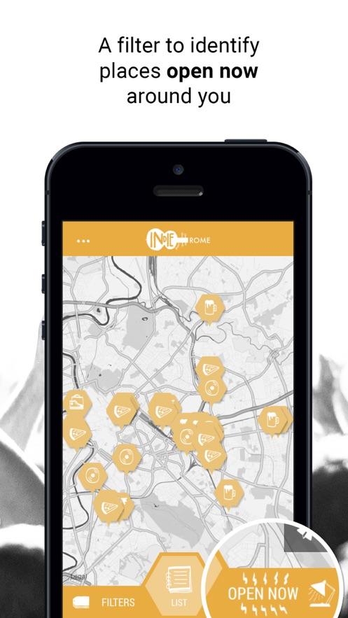 Indie Guides Rome App 截图