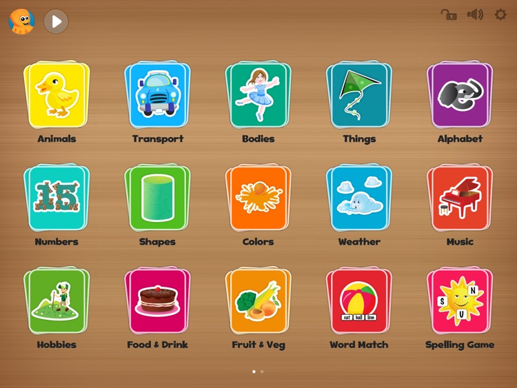 Flashcards for iPad