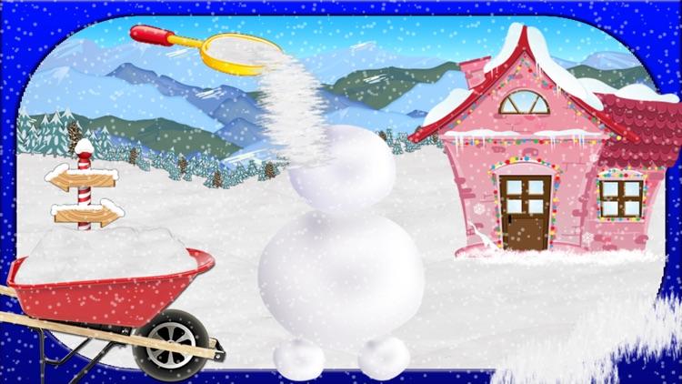 Snowman Maker & Dress Up Salon - Makeover Game