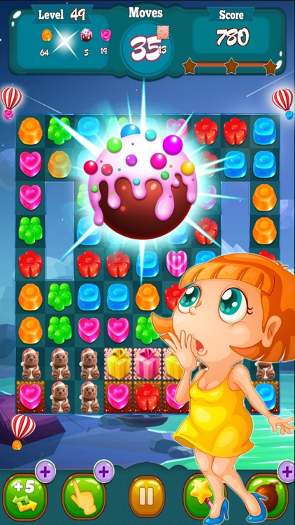 Candy Cake Match 3 screenshot-1