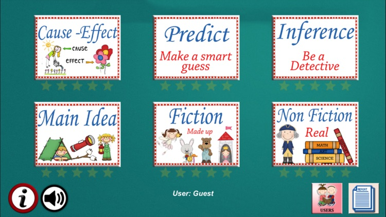 Reading Detectives - A to Z Comprehension Grade 3 screenshot-0