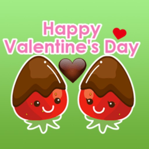 Chocolate Valentine Stickers Pack
