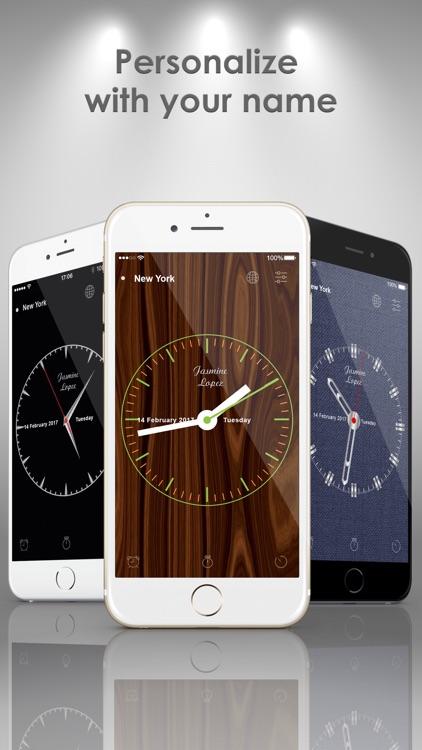 Go'clock: Analog Clock Widget screenshot-4