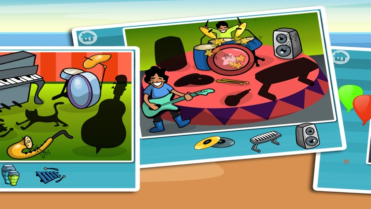 Music Puzzle Fun for Kids - kids app screenshot-3