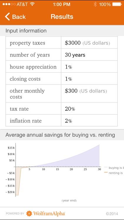 Wolfram Mortgage Calculator Reference App screenshot-3