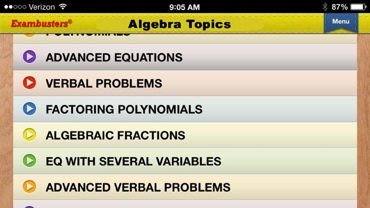 PCAT Prep Math Flashcards Exambusters