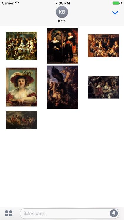 Jacob Jordaens Artworks Stickers screenshot-3