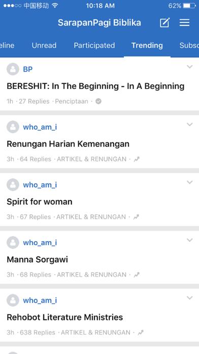 SarapanPagi Biblika screenshot 1