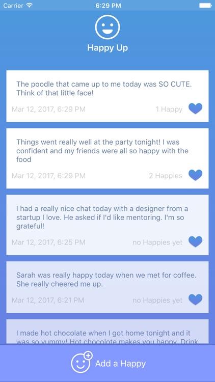 Happy Up - Your Happy Journal screenshot-3