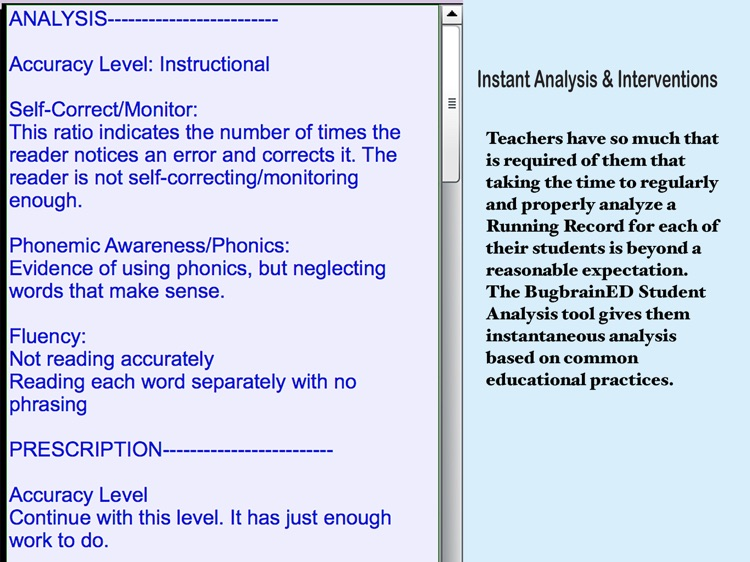 Student Reading Analysis 2 screenshot-3
