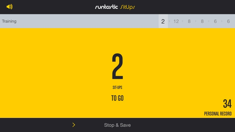 Runtastic Sit Ups: Abs Trainer & Counter