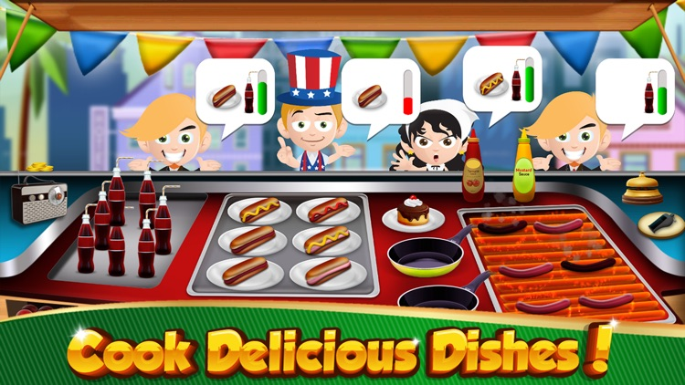 Cooking Games Burger HOT Fast Food Restaurant Chef screenshot-1