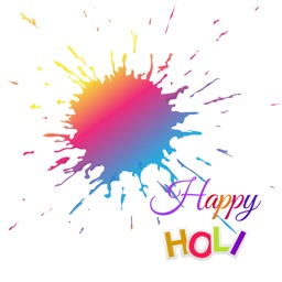 Holi Photo Frame 2017 - Colorful Picture Frames