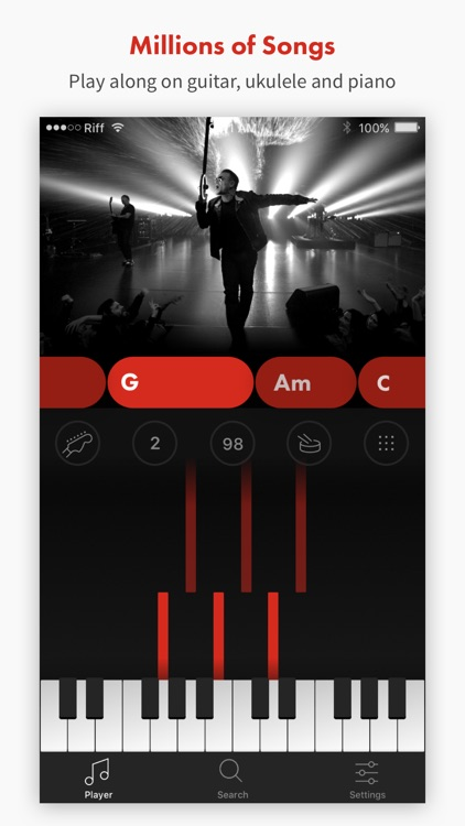 Riffstation - Guitar Chords in Sync with any Song