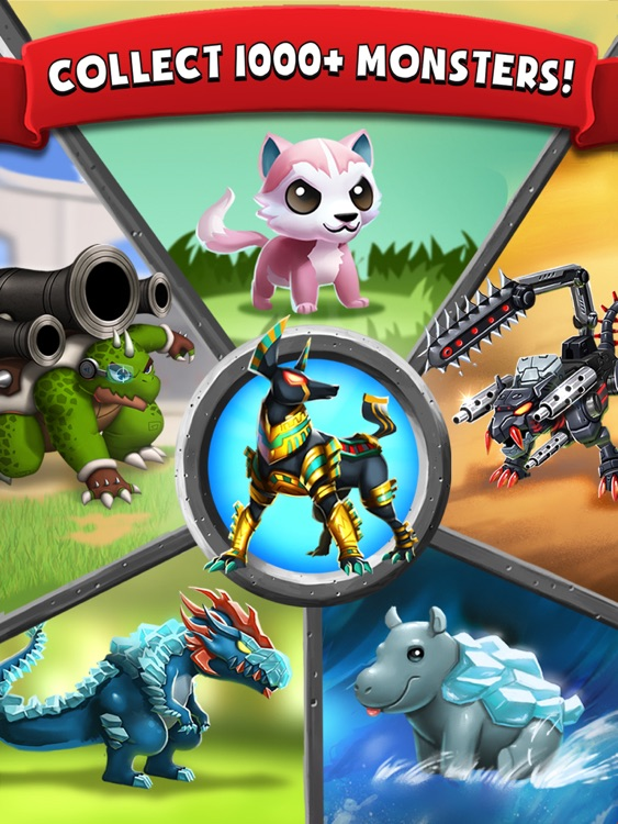 Battle Camp HD - Collect & Evolve Your Monsters screenshot-0
