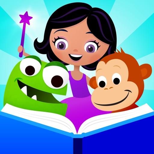 Speakaboos Reading App: Stories & Songs for Kids app logo