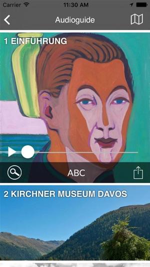 Kirchner Museum Davos Screenshot