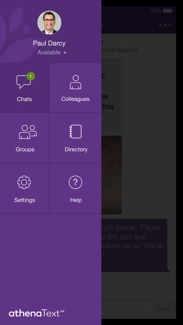 athenaText Screenshot