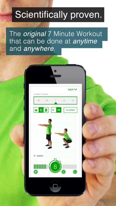 Screenshot #1 for 7 Minute Workout Challenge (Ad Supported)