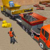 Car Crusher Monster Truck Driver & Crane Simulator