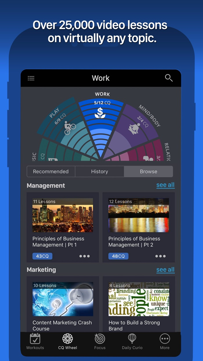 Curious - the game of learning Screenshot