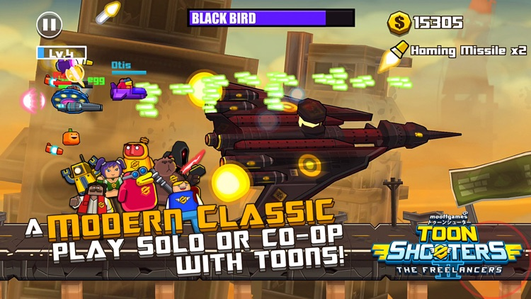Toon Shooters 2 Freelancers screenshot-0