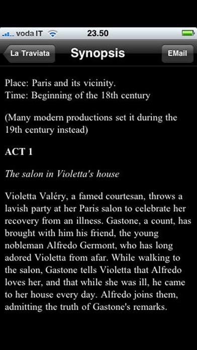 Opera: La Traviata
