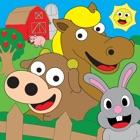 子供のゲーム用着色家畜ぬりえ icon