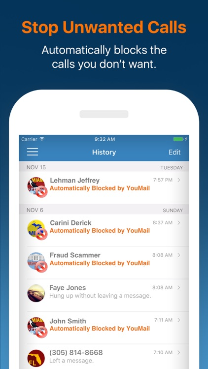YouMail: Visual Voicemail Replacement screenshot-0