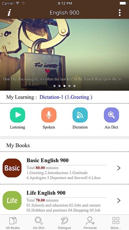 bting English - English 900