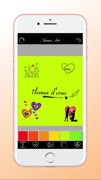 Focus.n.filter - Name Art screenshot-3
