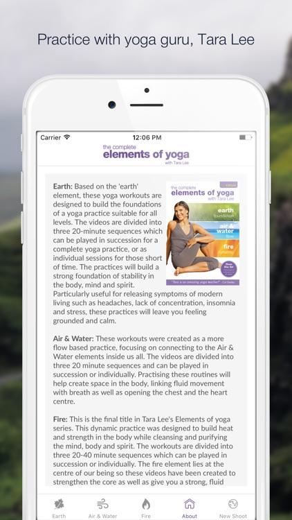 Elements of Yoga Video Collection - with Tara Lee screenshot-4