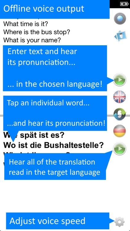 Translate Offline: German Pro screenshot-3