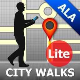 Almaty Map and Walks