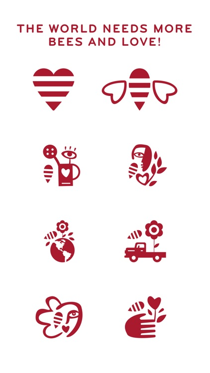 Beesponsible Social Sticker Pack