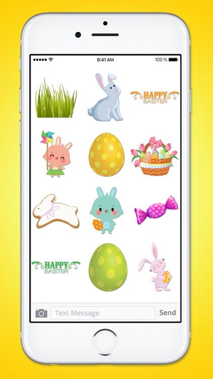 Happy Easter Basket Sticker Pack screenshot-4