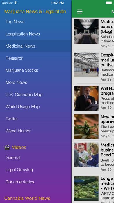 Marijuana Newsのおすすめ画像2