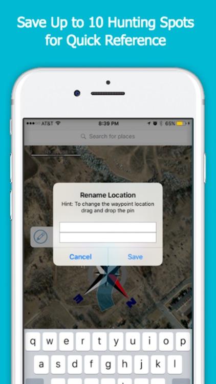 Duck Hunting Wind Finder - Weather App screenshot-3
