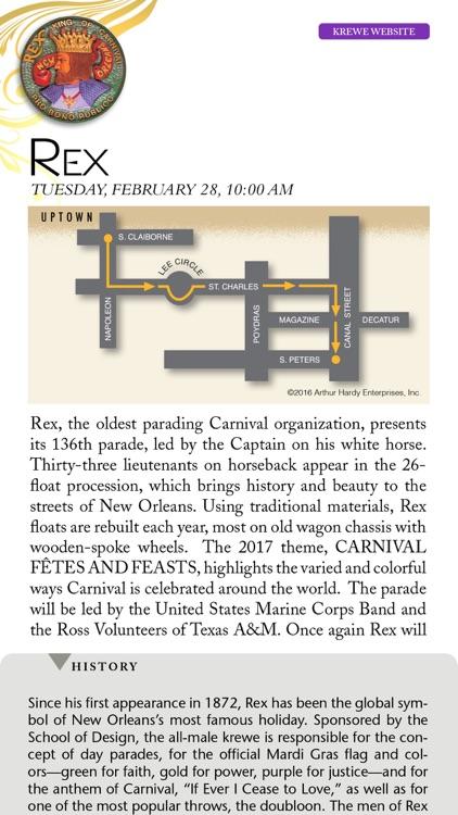 Arthur Hardy's Mardi Gras Guide
