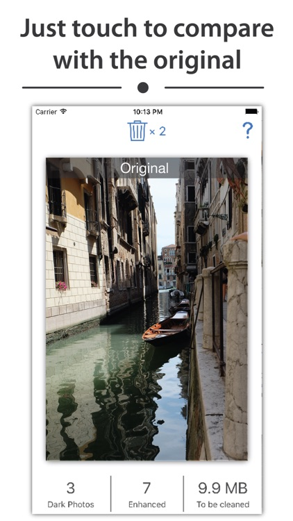 Enhancy - auto fix photo issues for your gallery app image