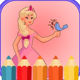 Princess Pony Coloring book for kids