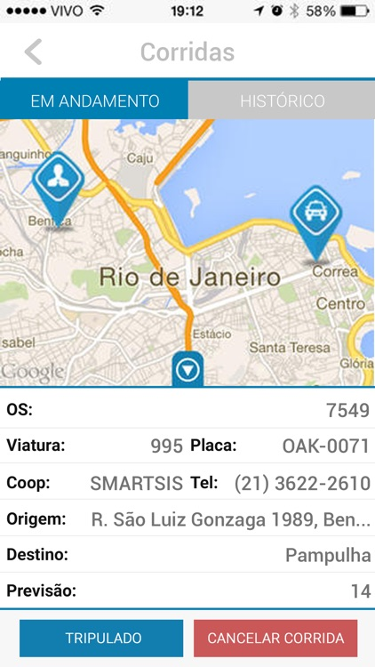 Coopnorte Taxi screenshot-3