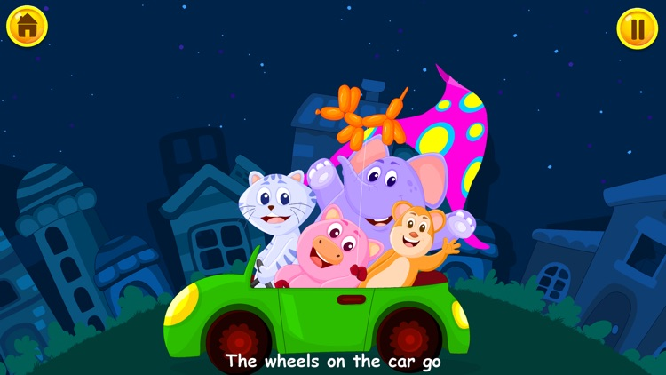 Wheels On The Bus - Kidlo Nursery Rhymes For Kids screenshot-2