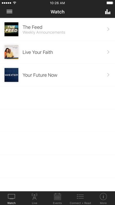 Word of Faith screenshot one