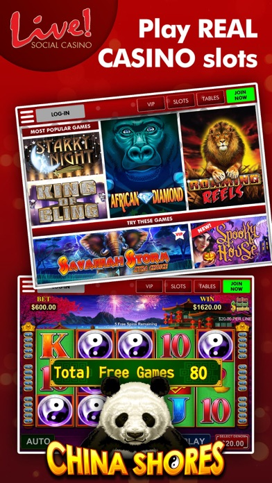 Live! Social Casino screenshot one