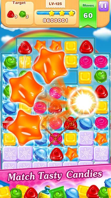 Cookie Sweet Legend - Match 3 screenshot-3